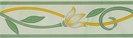 Бордюр Тюльпан 200х57 зеленый
